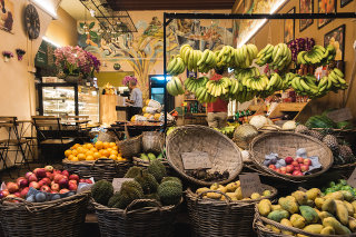 Shop of Healthy Fruits
