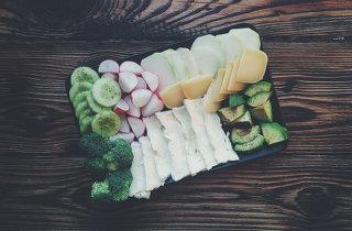 Raw Veg Plate